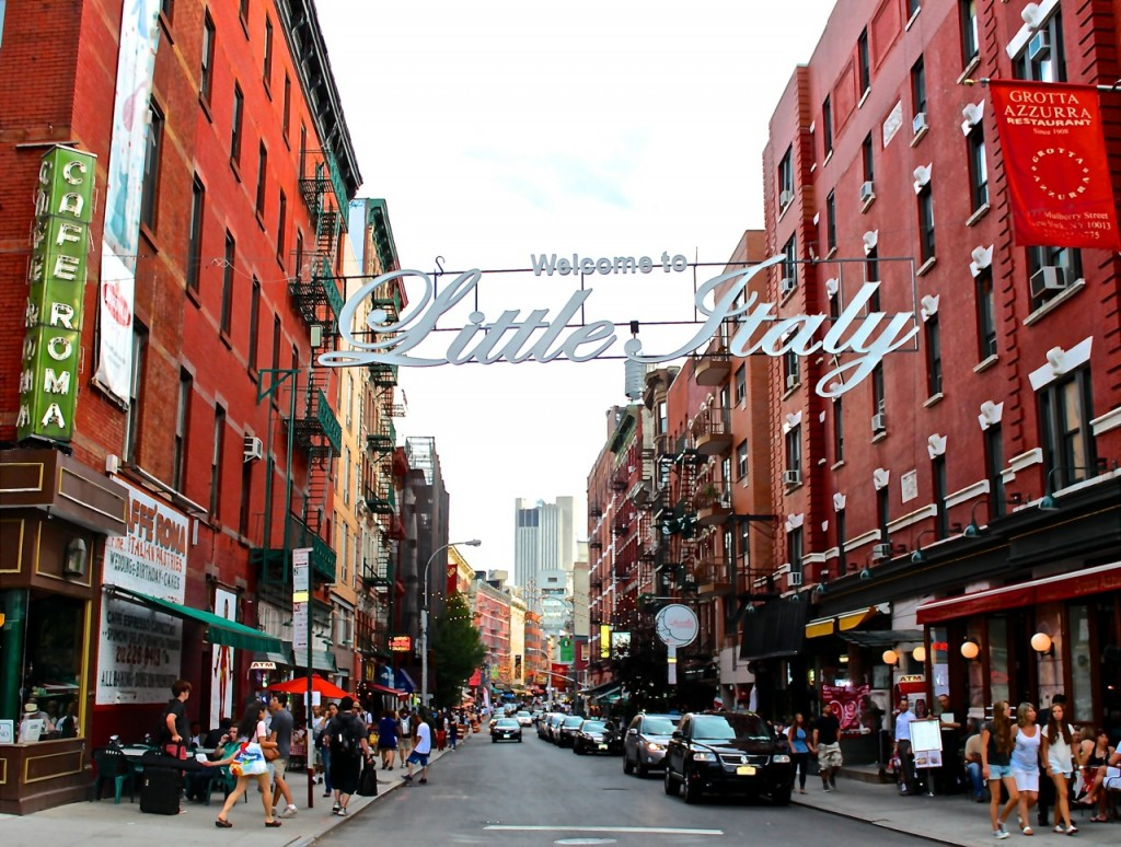 welcome Little-Italy