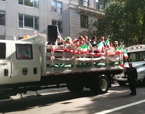 Columbus day parade