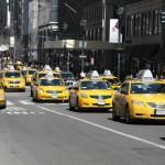 I famosi TAXI gialli di New York