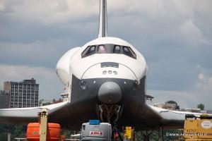 Fronte navicella spaziale Enterprise