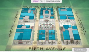 Rockefeller plaza mappa