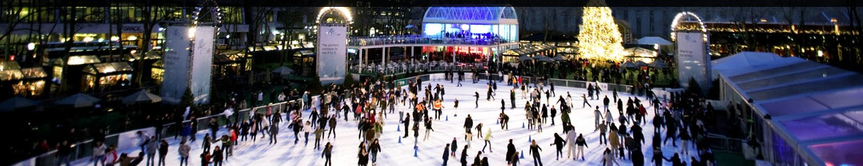 Bryant park ice ring