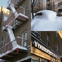 New York sotto la neve, la grande nevicata ora dopo ora!
