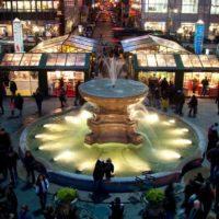 bryant-park-fountain-shops mercatini di natale