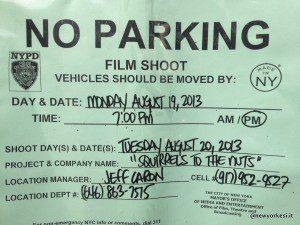 avviso film shooting