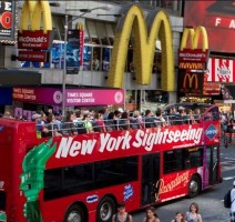 Giro turistico in autobus gli Hop-on Hop-off New York