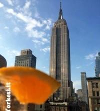 Estate tempo di rooftop a New York