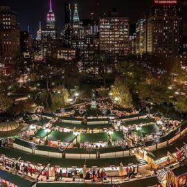 Andiamo insieme a visitare I Mercatini di Natale di New York